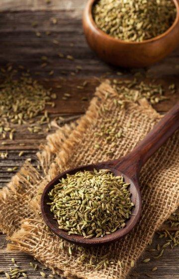 raw organic fennel Seed Ready to Use